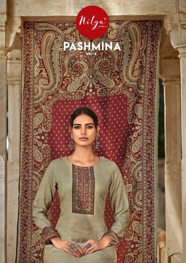 Silkvilla Pashmina Vol 5 Designer Pashmina Saree With Shawl Collection Wholesale