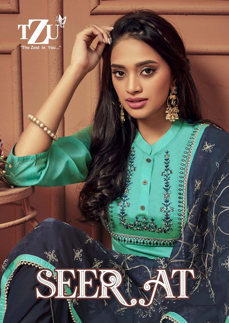 Rachna Present Seerat Weightless Digital Printed Designer Fancy Saree Online Dealer