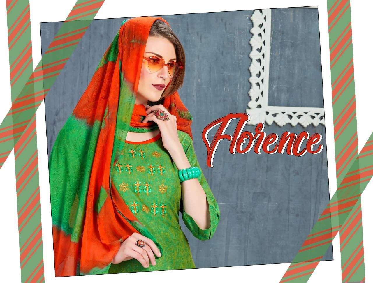 Esta Designs Florence Pashmina Print Work Designer Salwar Kameez Winter Season