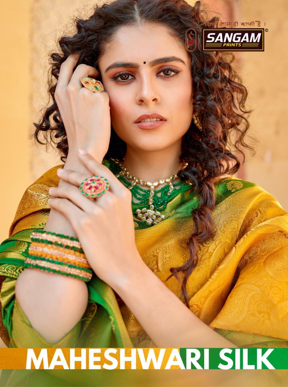 Manjuba Clothing Maheshwari Silk Banarasi Patola Silk Sarees Dealer In Gujarat