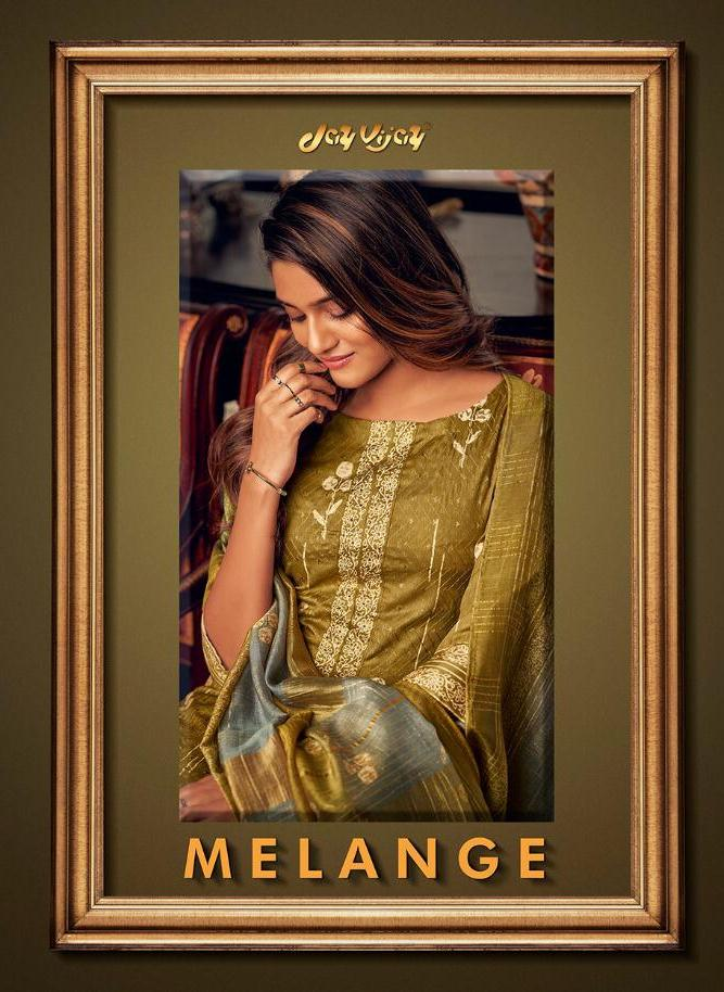 Mrigya Launched Melange Handloom Cotton With Embroidery Long Gown Style Kurti