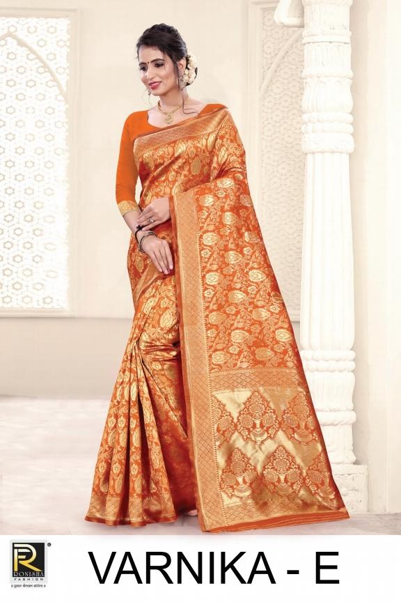 Mrigya Present Varnika Silk Long Top With Viscose Dupatta Collection