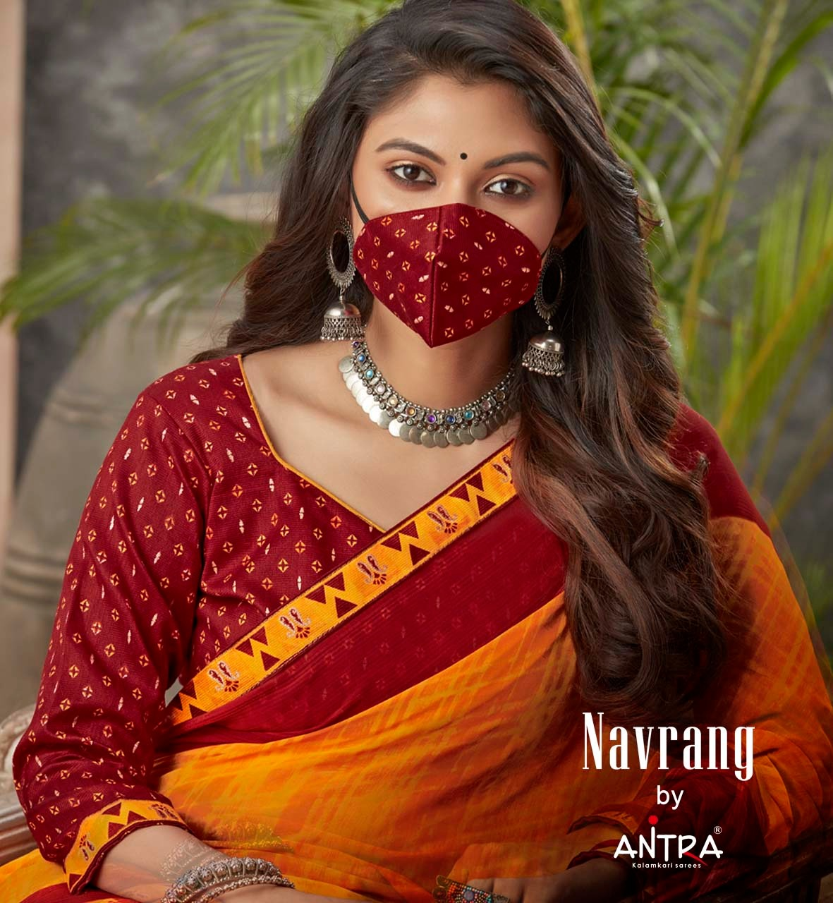 Right One Navrang Sana Silk Work Fancy Saree Supplier Surat Wholesale