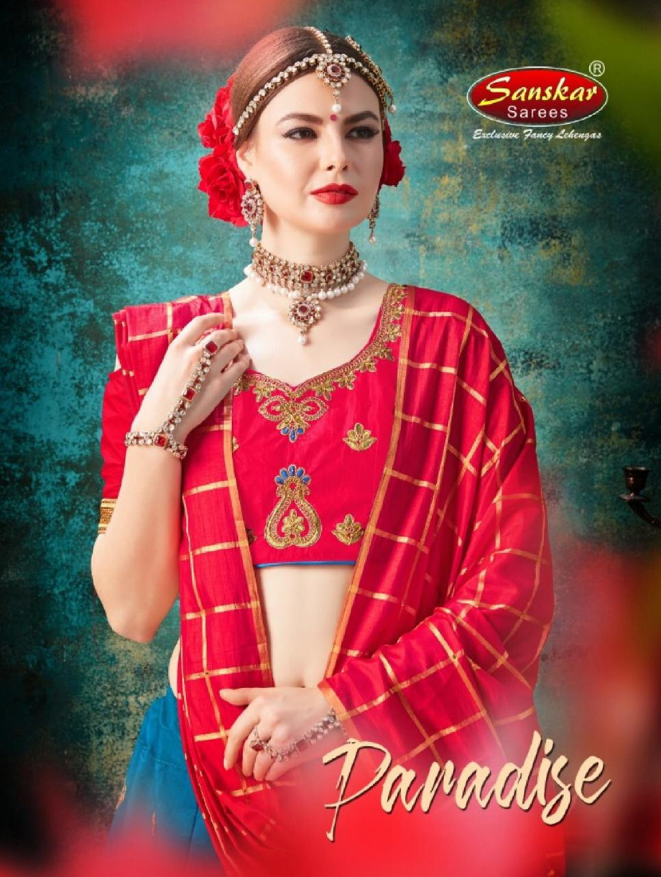 Sanskar Style Launch Paradise Silk Lehenga Dealer In Surat
