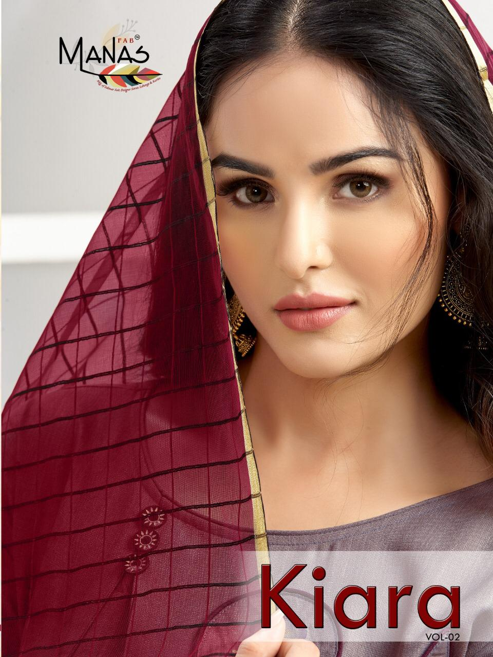 Manas Kiara Vol 2 Long Gown With Banarasi Dupatta Ethnic Collection