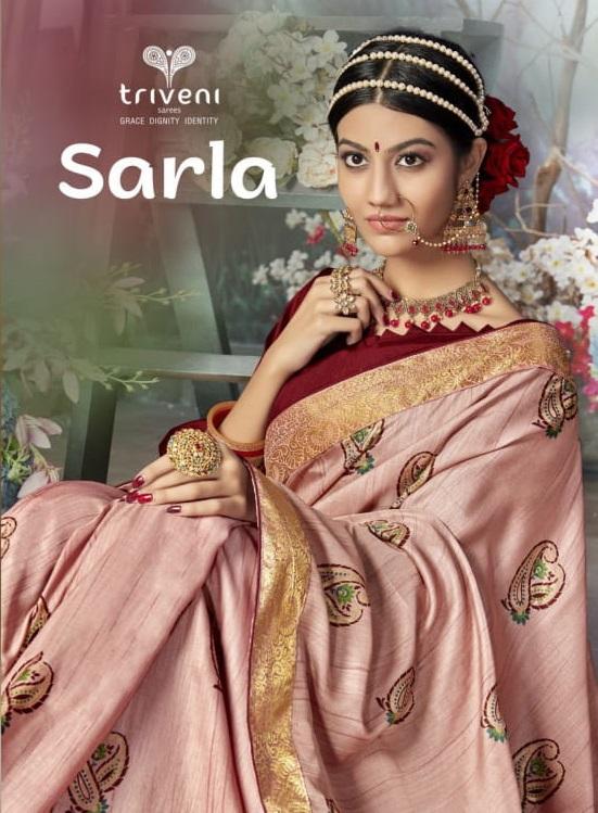 Triveni Sarla Pashmina Silk Sarees Winter Collection Online Shopping