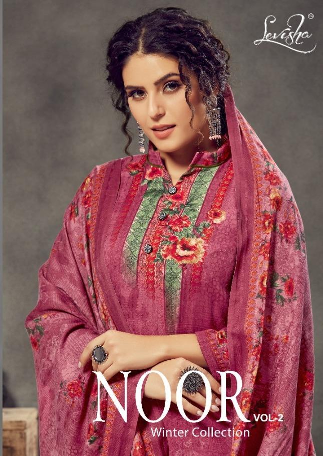 Levisha Noor Vol 2 Pashmina Printed Winter Dress Materials
