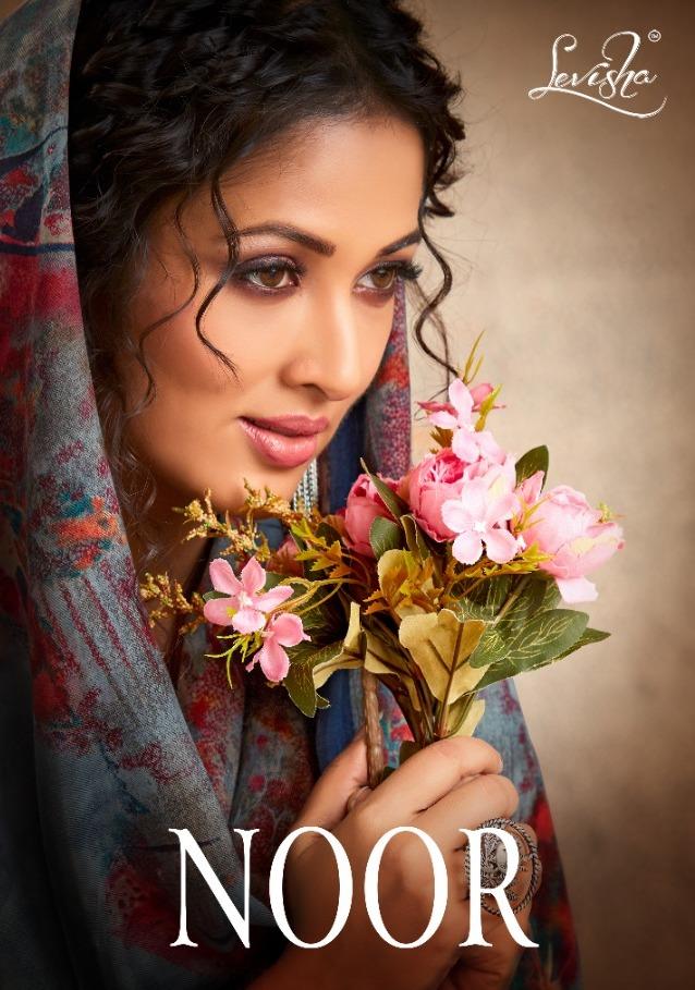 Levisha Present Noor Pashmina Winter Salwar Kameez Seller Surat