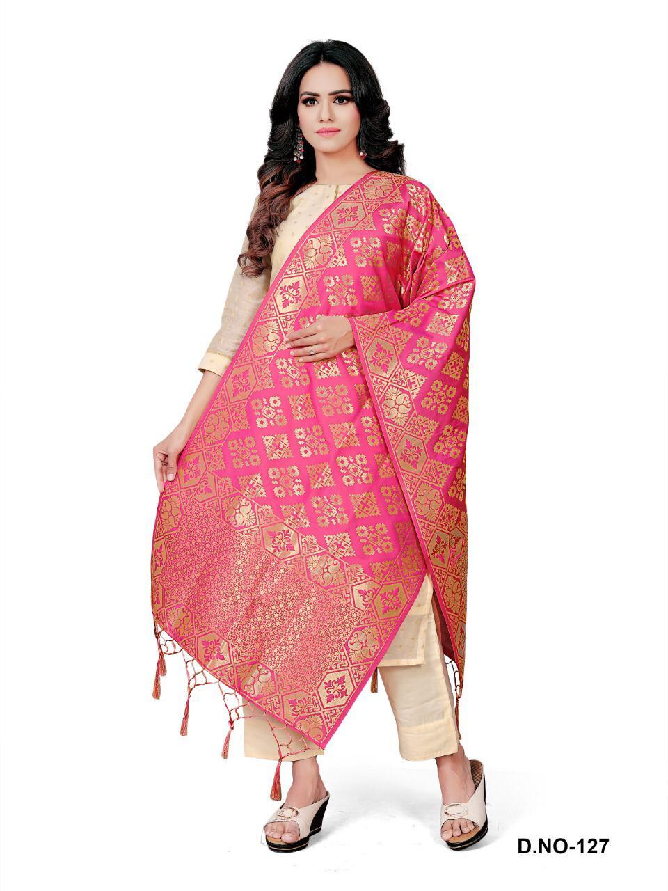 Mrigya Present Premium Quality Banarasi Silk Dupatta Collection