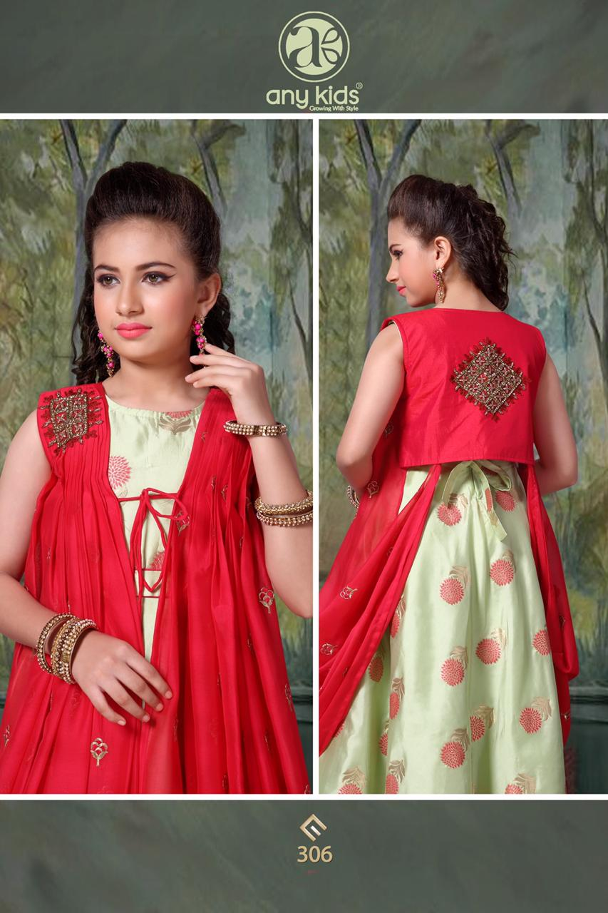 Any Kids 291-319 Series Buy Kids Gown Frocks Palazzo Suits Anarkali Collection Online