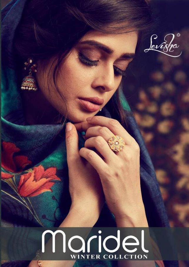 Maridel By Levisha Pashmina Winter Dress Materials Supplier