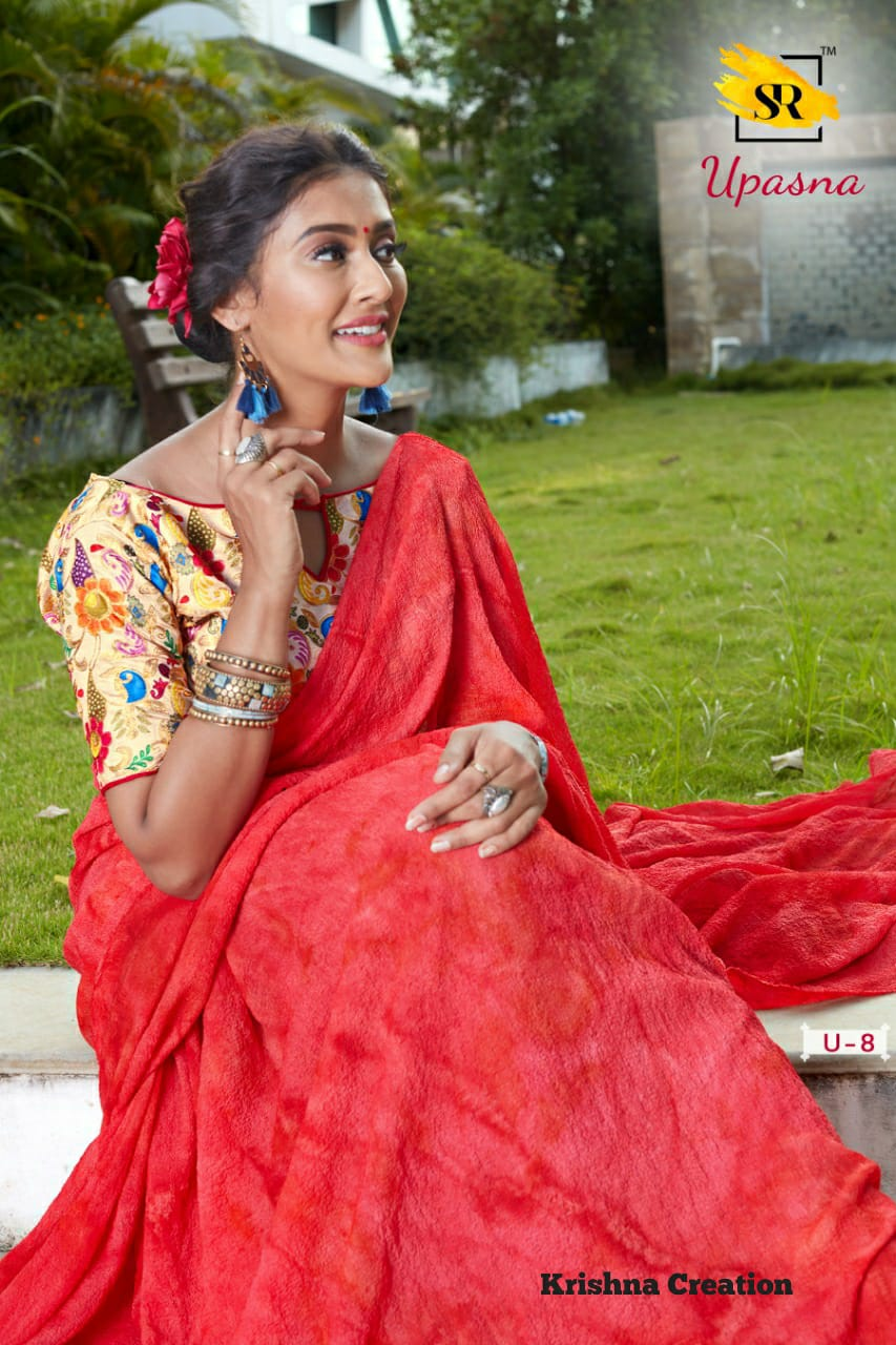 Indian Saree Online 2019 Latest Designs Sr Brand Upasna Woolen Winter Collection