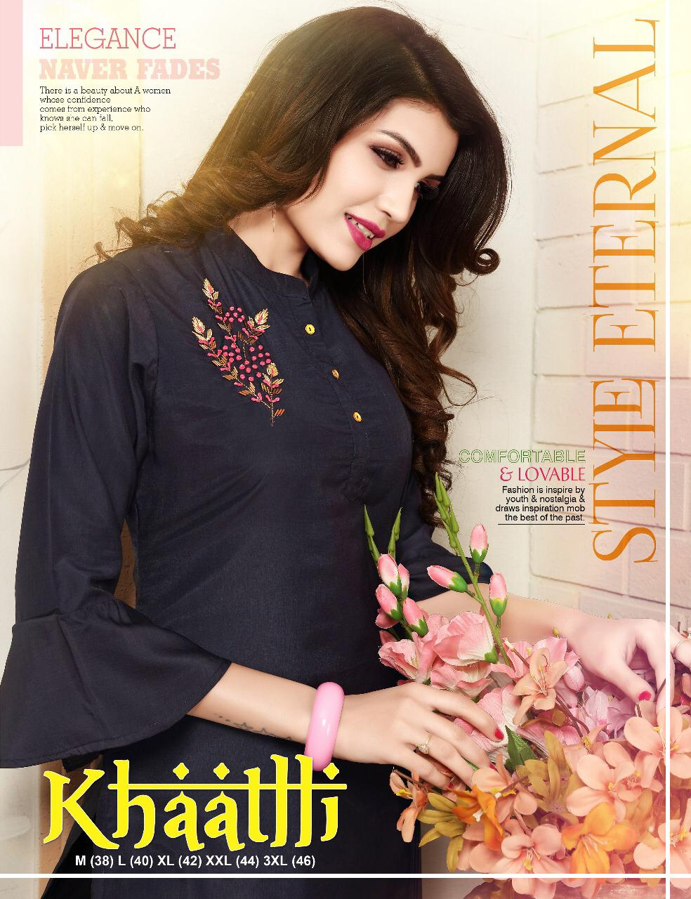 Jhala Impex Khaatlli Buy Kurtis Online For Cheap Rate In India