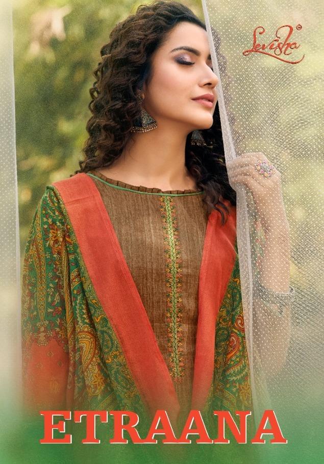 Levisha Etraana Satin Cotton Designer Fancy Dress Materials