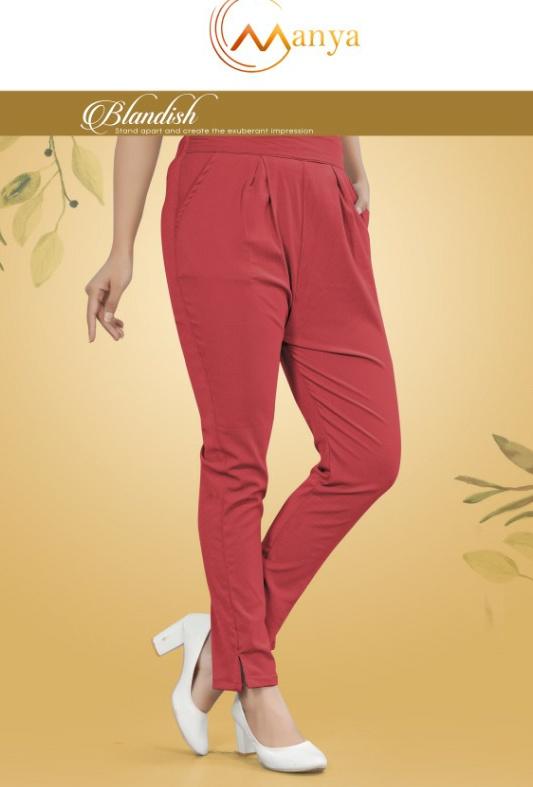 Mansi Fashion Present Fancy Strech Lycra Pant Collection