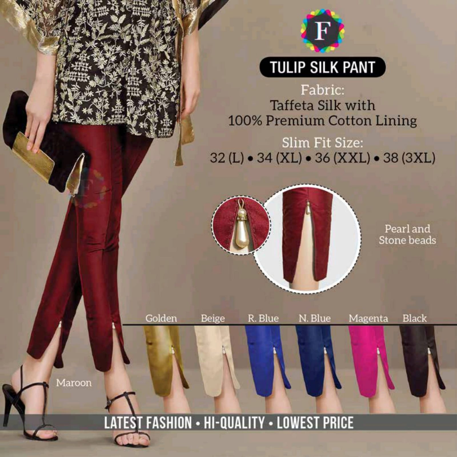Buy Bottom Wear Ladies Pant Tulip Pant Linen Pant Cigarette Pant Collection At Cheapest Rates