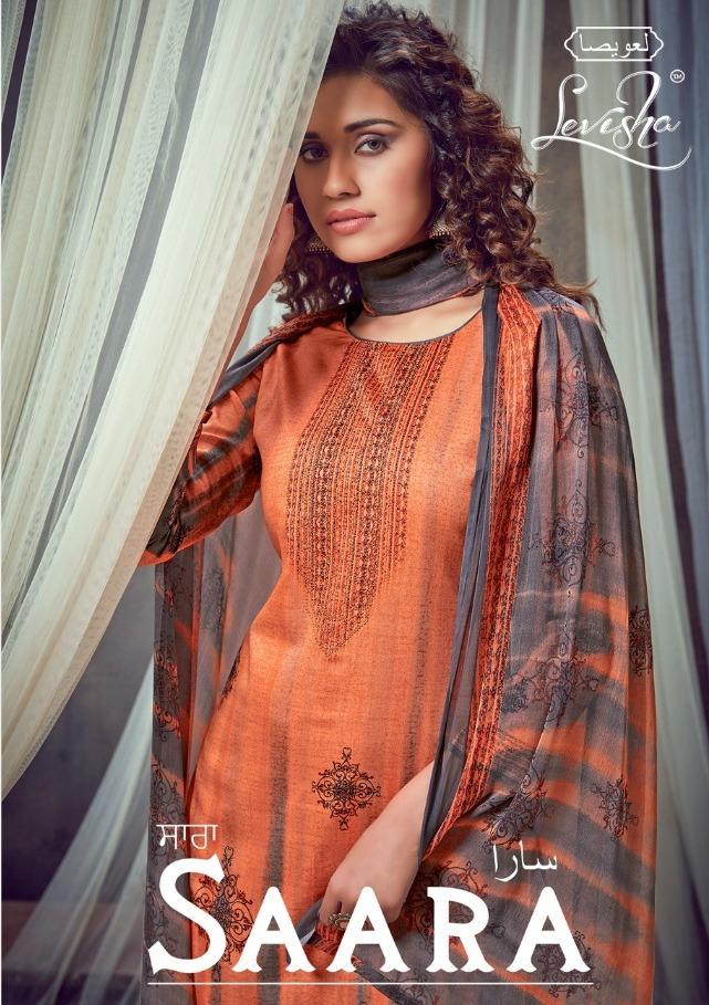 Levisha Present Saara Jam Silk Summer Wear Suits And Salwar Kameez