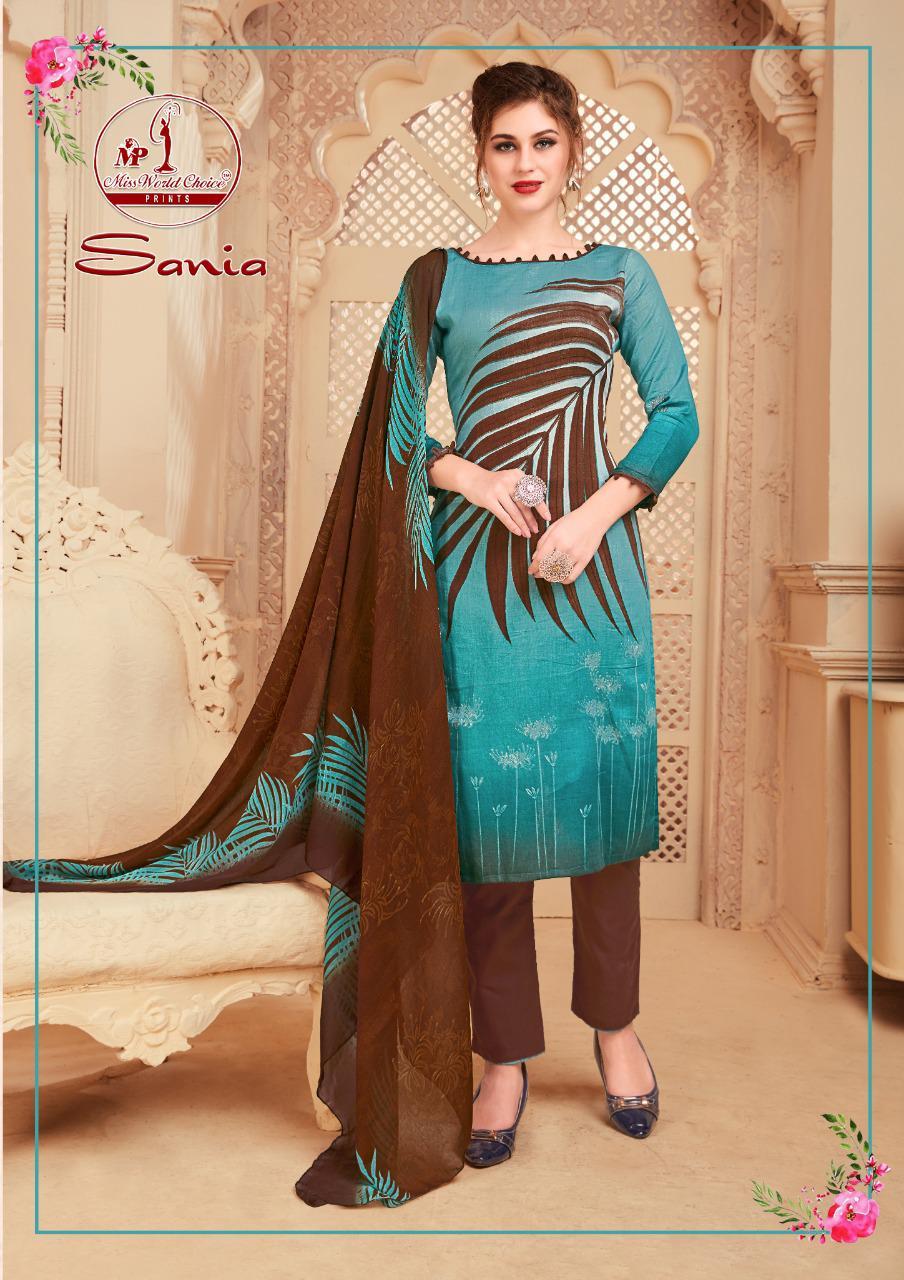 Miss World Choice Sonia Vol 2 Cotton Dress Materials Summer Wear Dress