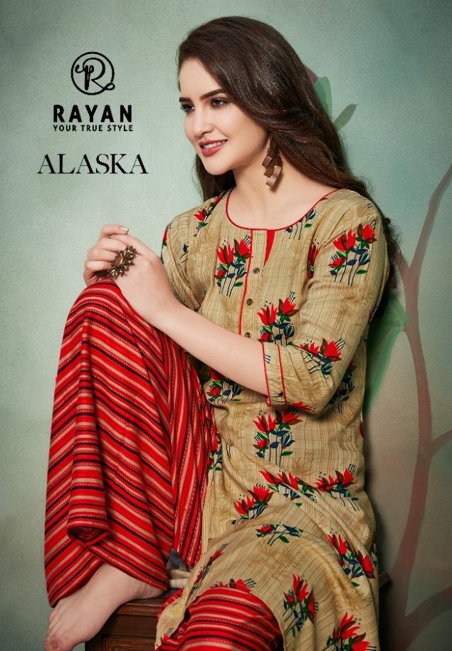 Rayan Present Alaska By Rani Rayon Printed Top With Palazzo Ethnic Store