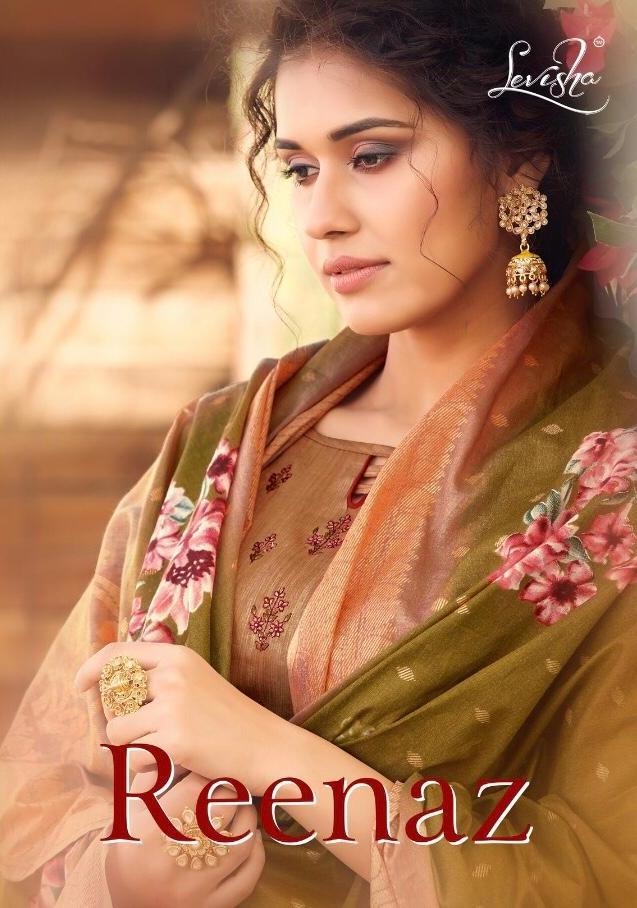 Reenaz By Levisha Satin Cotton Suits And Salwar Kameez