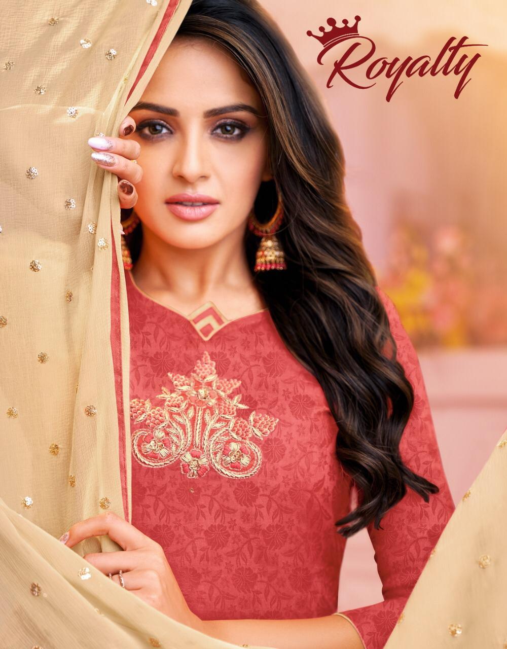 Royalty By Kapil Trendz Cotton Satin Fancy Dress Collection