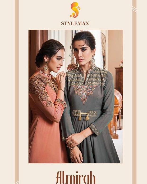 Stylemax Almirah Vol 1 Readymade Long Gowns Ethnic Collection