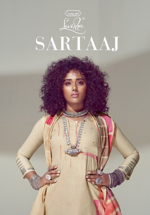 Levisha Launch Sartaaj Lawn Cotton Printed Salwar Suits Exporter