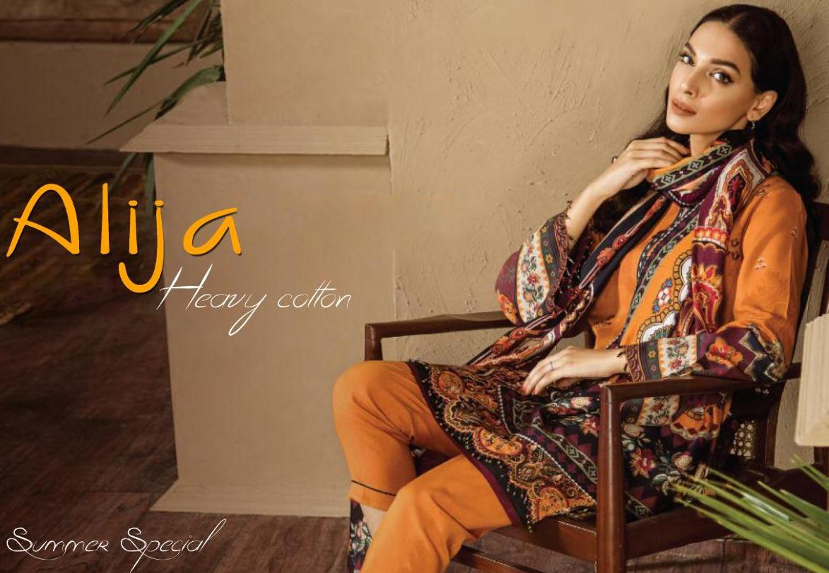 Keval Fab Alija Vol 1 Heavy Cotton Daily Wear Salwar Suit Collection