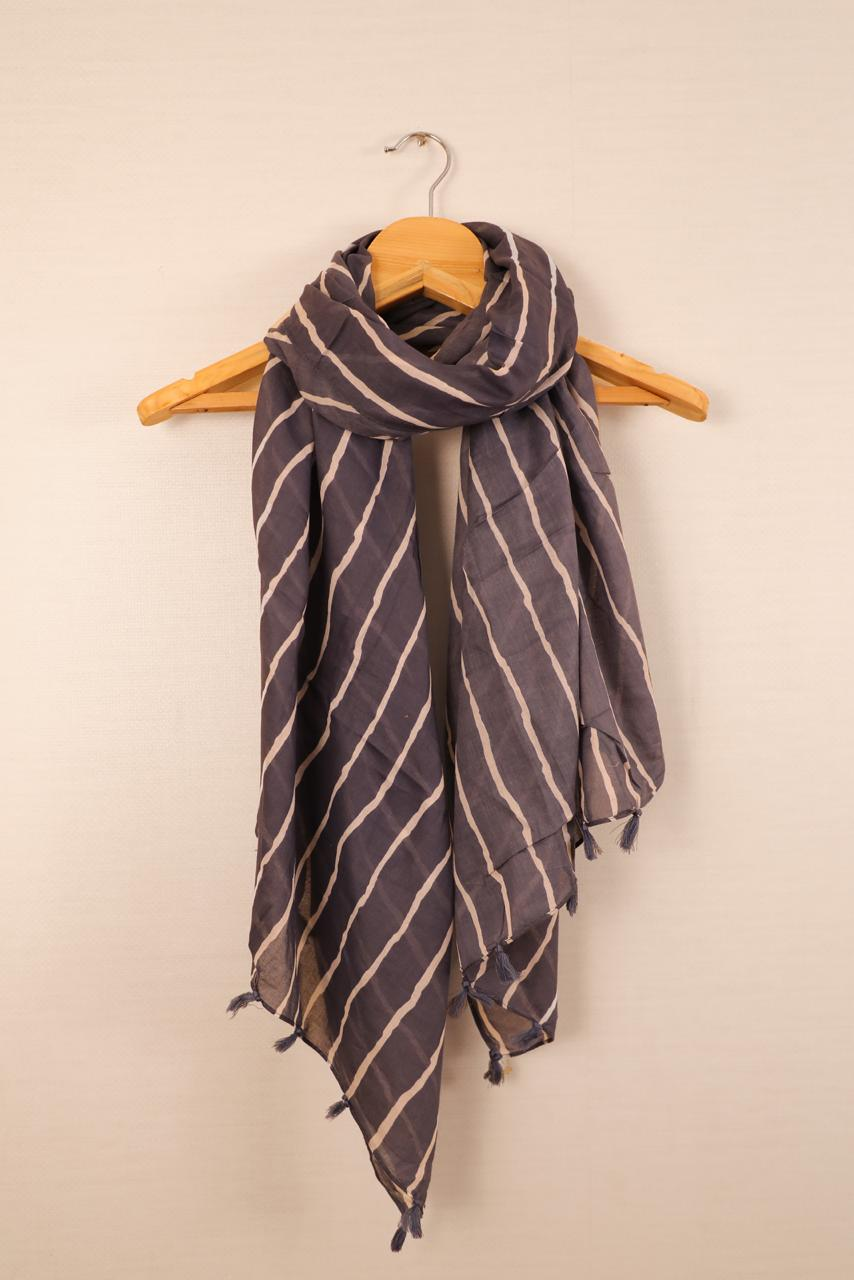 Kanz Scarf Present Premium Cotton Stole With Fancy Collection