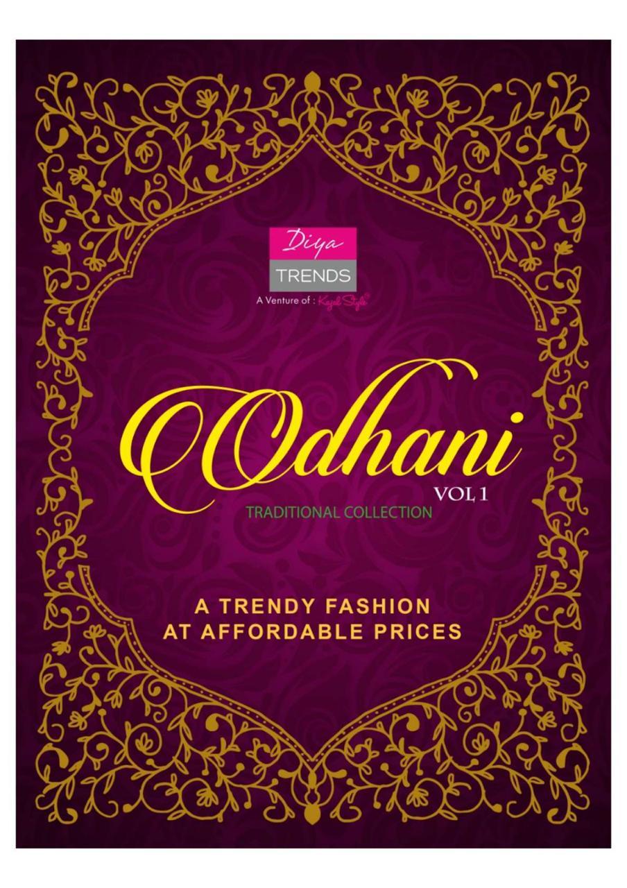 Odhani Vol 1 By Diya Trends Rayon Fancy Kurti Bottom With Fancy Dupatta