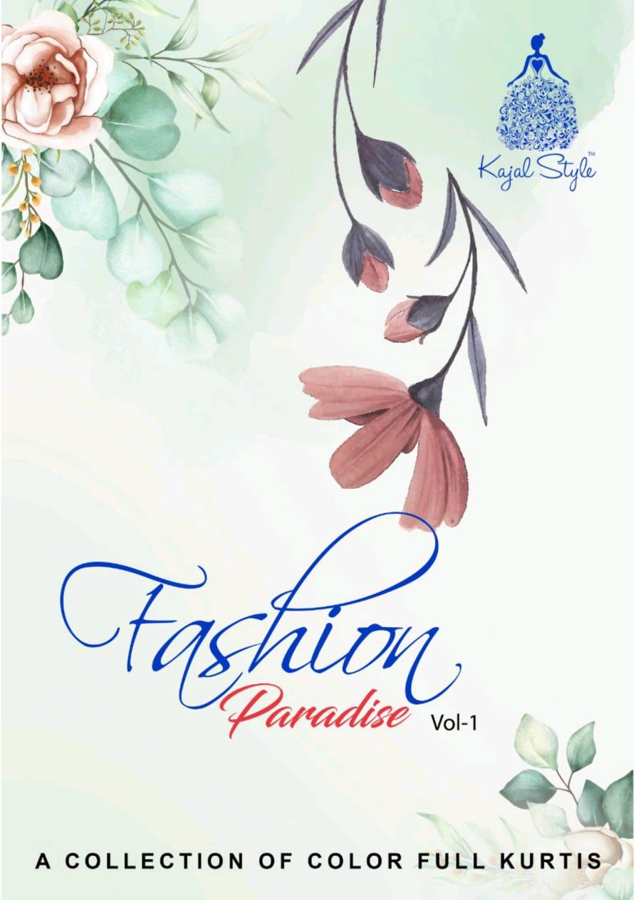 Kajal Style Fashion Paradise Vol 1 Rayon Print Kurti With Plazzo Sharara And Pant Pair