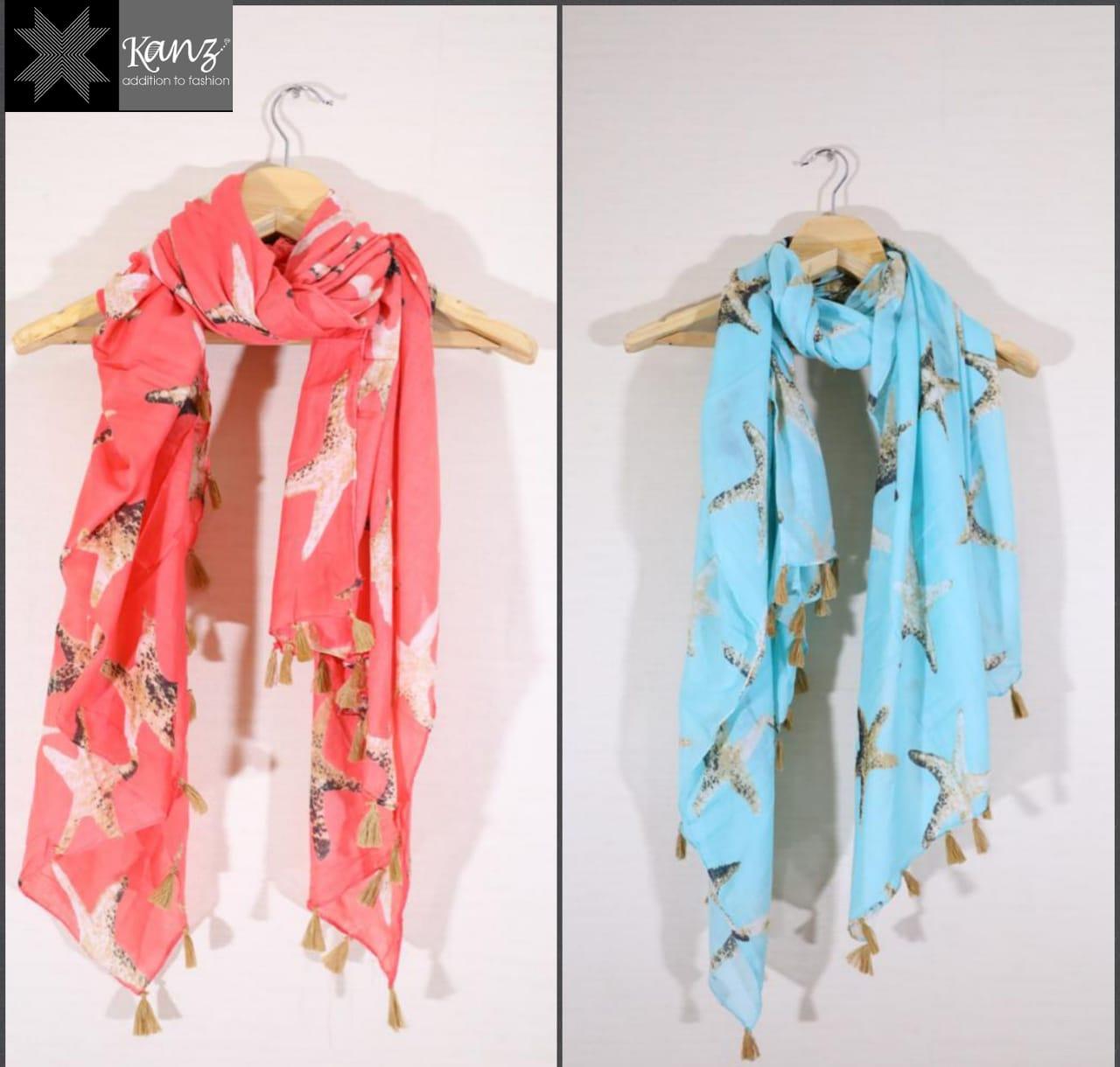 Kanz Scarf Present Premium Cotton Dupatta Vol 2 New Design Cotton Scarf