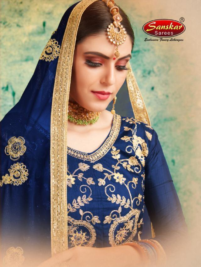 Sanskar Style Venus Silk Lehanga Buy Best Price