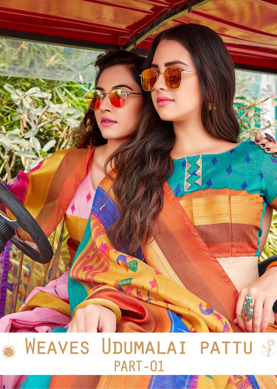 Siddhanth Weaves Present Weaves Udumalai Pattu Part 1 Fancy Saree Online Shopping
