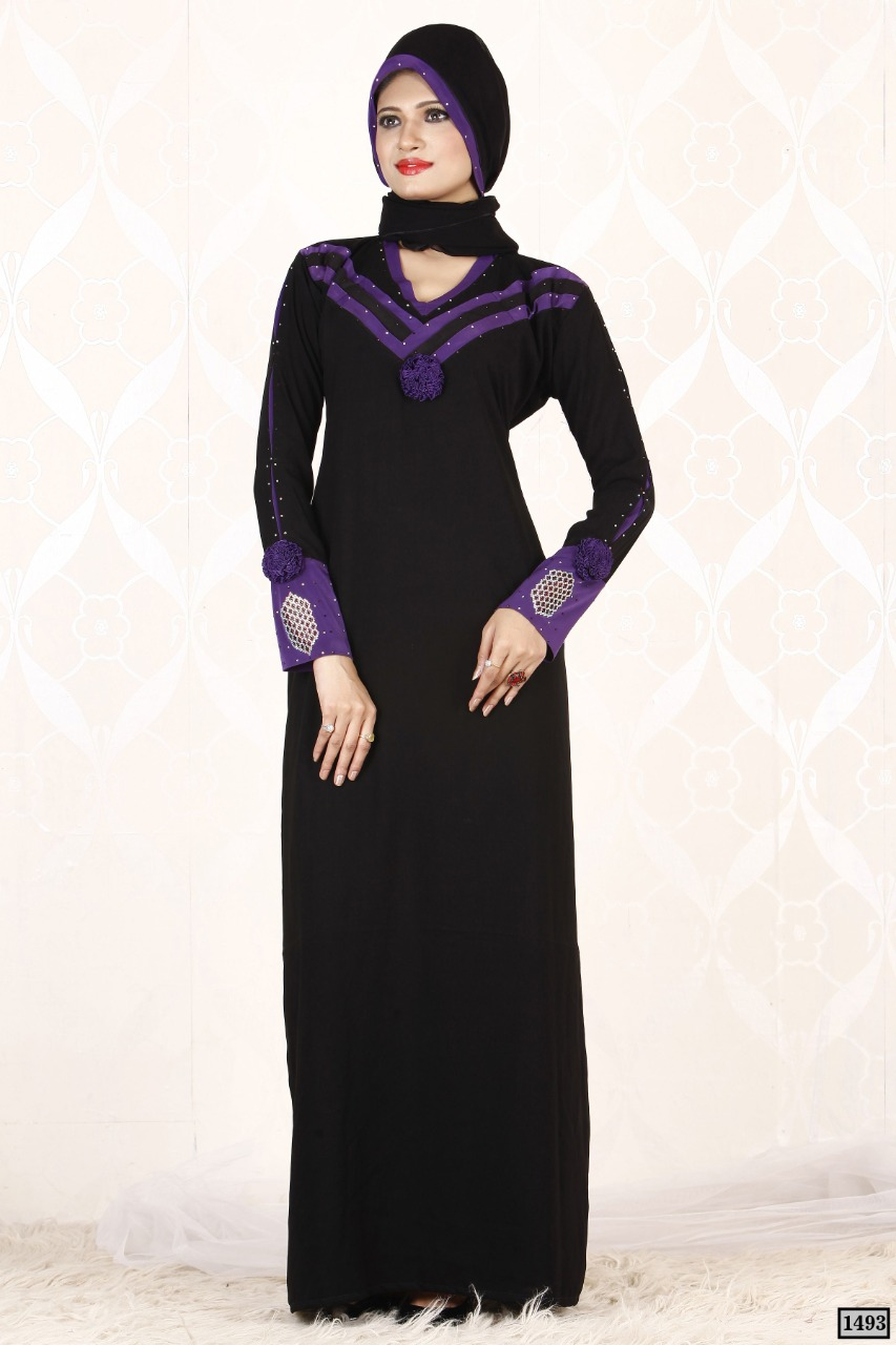 Buy Abaya Designer Readymade Lycra Abaya Online Burqa Online Shopping In India