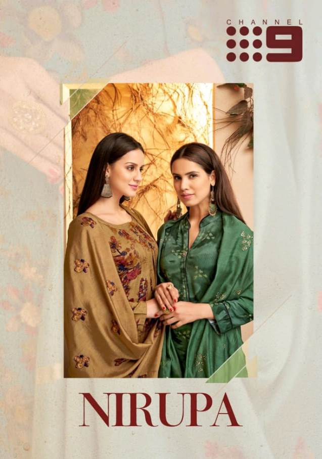 Channel 9 Nirupa Rayon Prints Simplicity Readymade Suit Catalogs Supplier