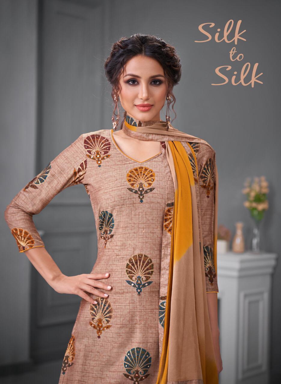 Kapil Trendz Silk To Silk New Soft Silk With Work Exclusive Salwar Suits In Surat