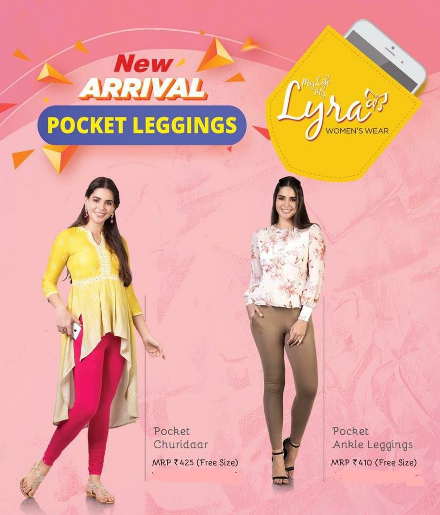 Lux Lyra Womens Churidaar Pocket Leggings Pocket Ankel Leggings Buy Online In India 2020