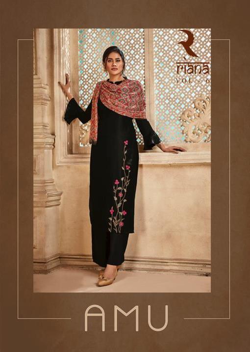 Shivam Exports Present Riana Vol 6 Viscose Upada Silk Exclusive Salwar Kameez