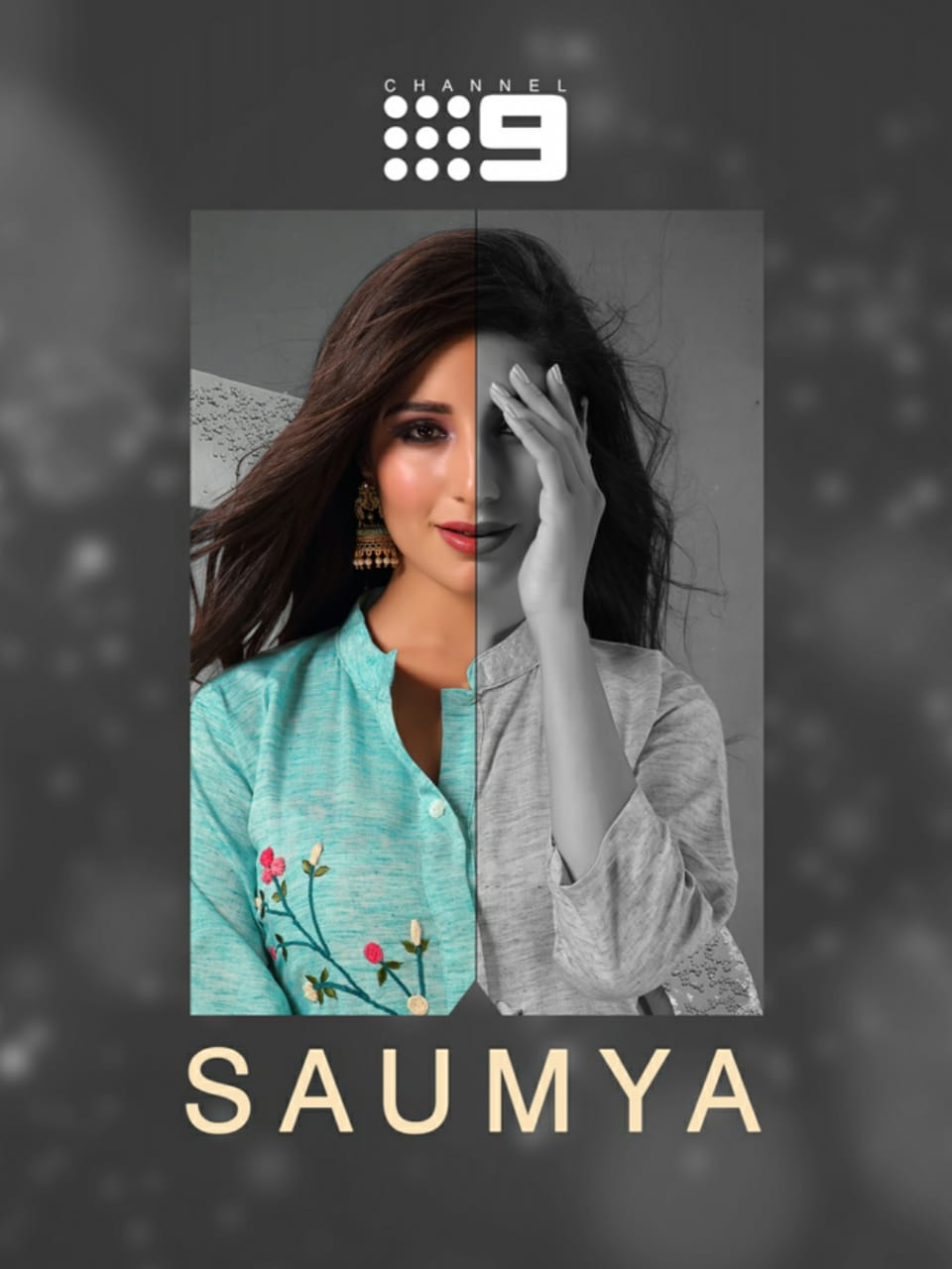 Channel 9 Presents Saumya Rayon Work Exclusive Collections For Kurti With Plazzo
