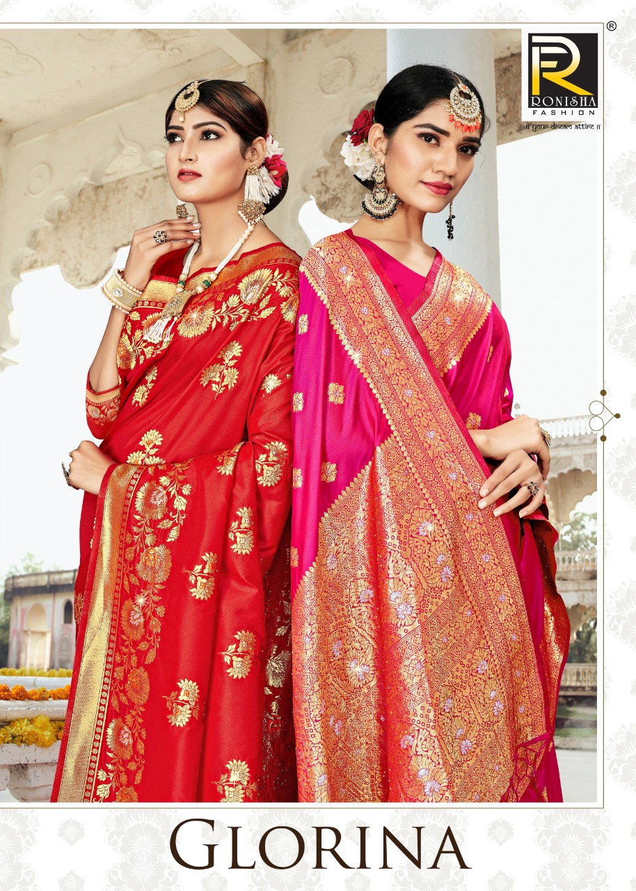 Glorina By Ranjna Saree Fancy Traditional Wear Designer Saree Online Shopping In India