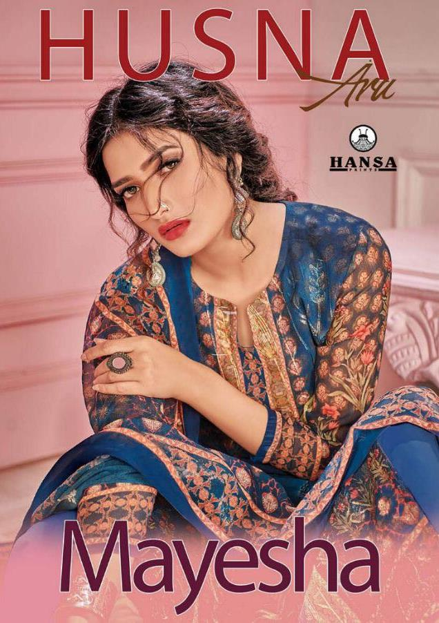 Mayesha By Hansa Georgette Digital Print With Work Designer Suits Clothing Store In India