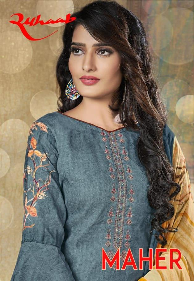 Shivam Exports Ruhaab Vol 71 Original Pashmina Digital Print Fancy Embroidery Salwar Suits
