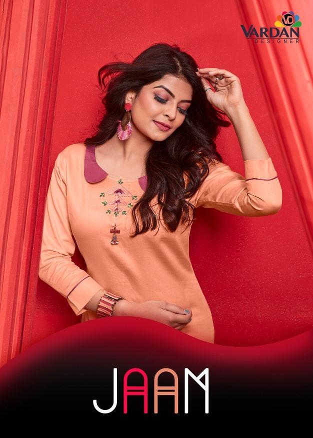 Vardhan Launch Jaam Vol 1 Heavy Smooth Cotton Kurti Online Selller In India