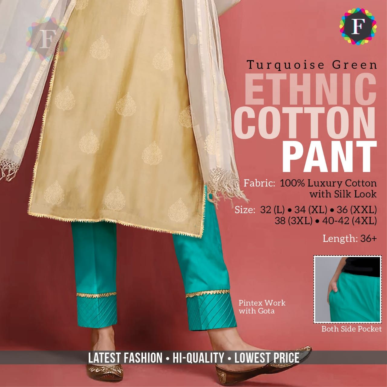 Ethnic Pant Cotton Bottom Wear Pants Buy Online At Best Rate