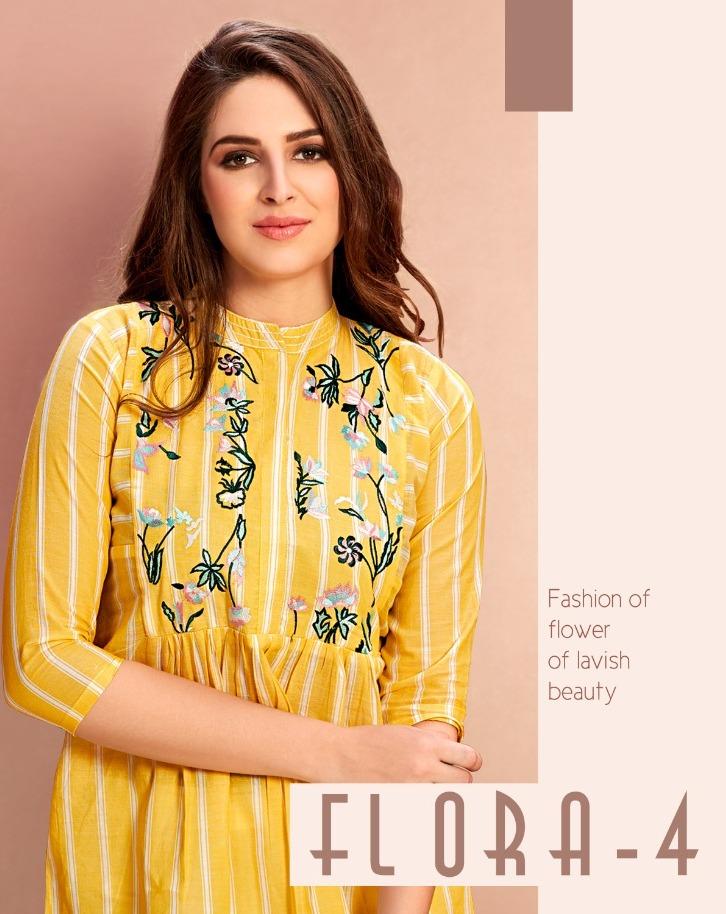 Flora Vol 4 By Mrigya Cotton Handloom Short Top Best Collection In Surat