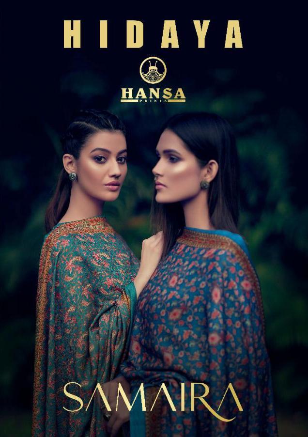 Hansa Hidaya Samaira Pashmina Winter Dress Materials Wholesaler