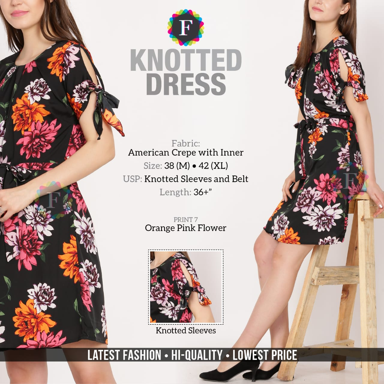 Knotted Dress Girls Western Fancy Collection Buy Online