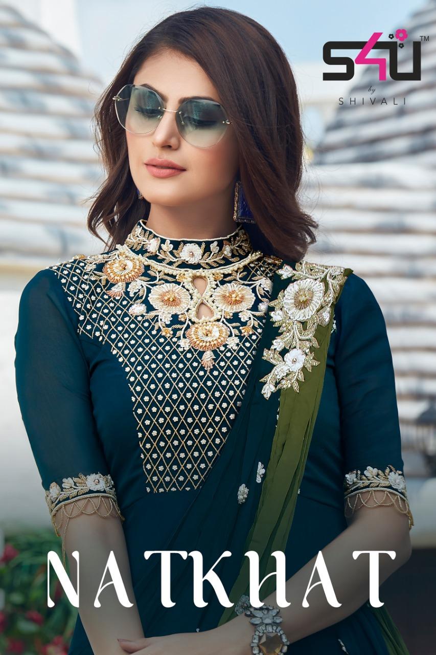 S4u Natkhat Ready Made Tranding Indian Wedding Festive Wear 2019 By Shivali