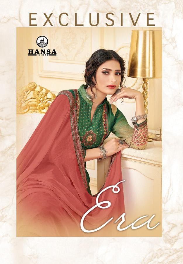 Hansa Exclusive Era Georgette Digital Print Party And Festival Wear Salwar Suits Seller
